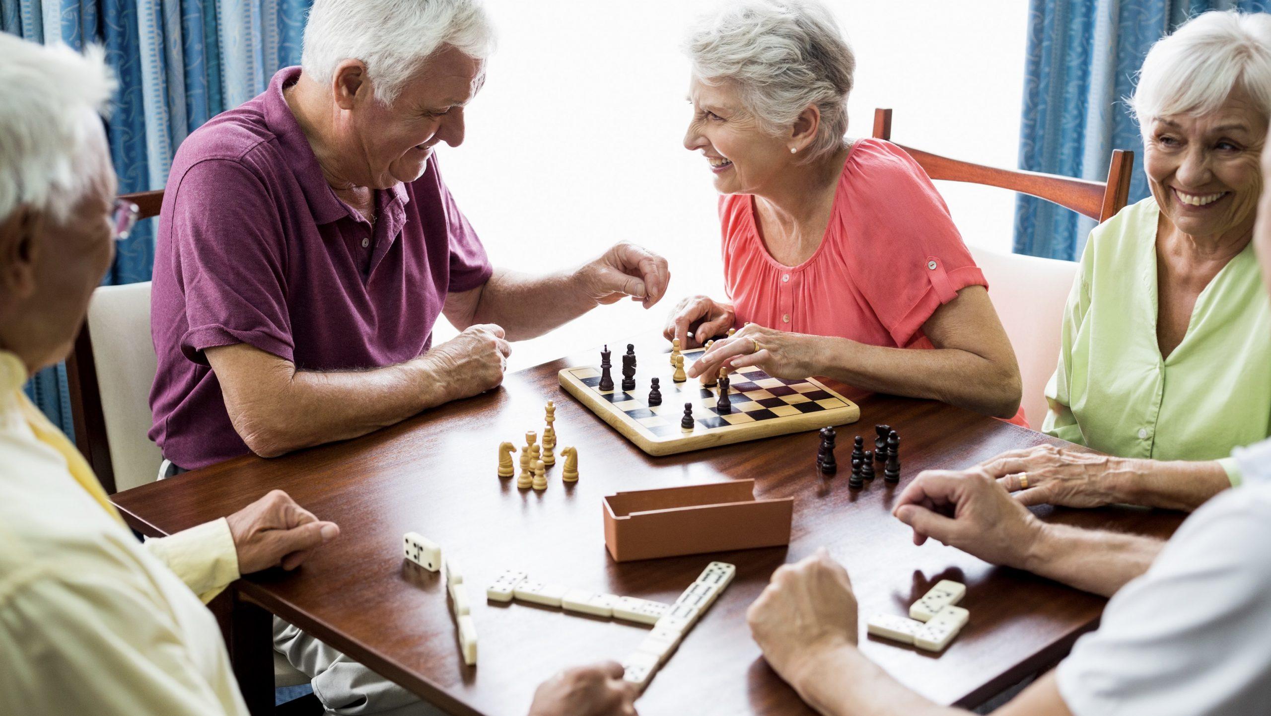elderly activity groups